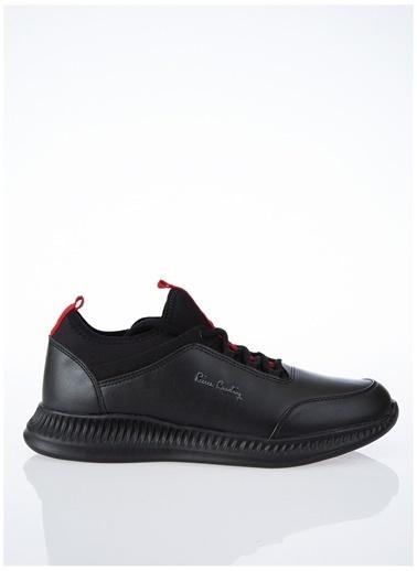 Pierre Cardin Pierre Cardin Erkek Siyah - Kırmızı Sneaker Renkli